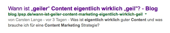 OnPage Optimierung Meta-Tags