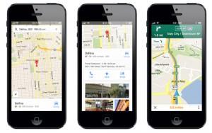 Google Maps für iPhone erschienen