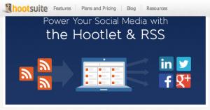 HootSuite integriert RSS-Reader