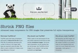 Tool-Vorstellung: Tiny PNG verkleinert PNGs ohne Qualitätsverlust