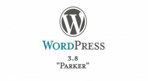 wordpress-3-8-parker