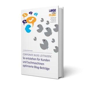 Corporate Blog Leitfaden