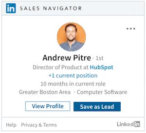 LinkedIn Sales Navigator Kontakt