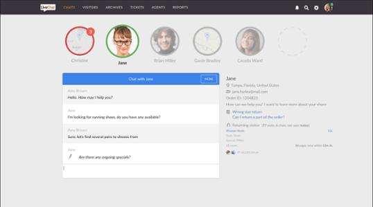 LiveChat Anwendung