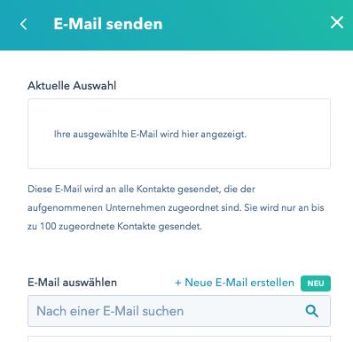 Klartext E-Mail erstellen