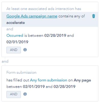 Conversion Filter