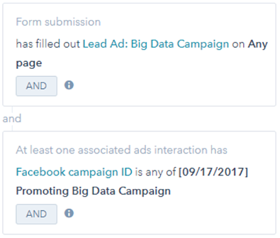 Lead Ad Filter