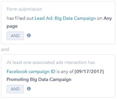 Lead Ad Filter