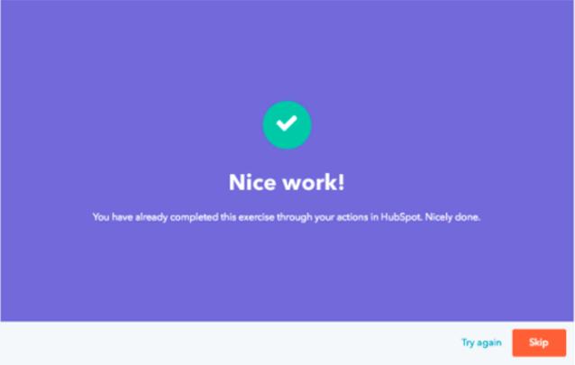 HubSpot Zertifizierung Praxisarbeit