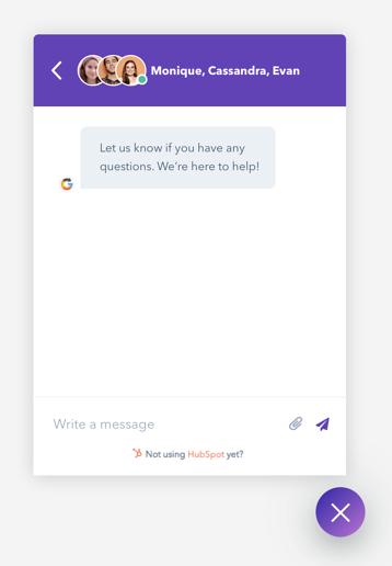 Desktop Live-Chat