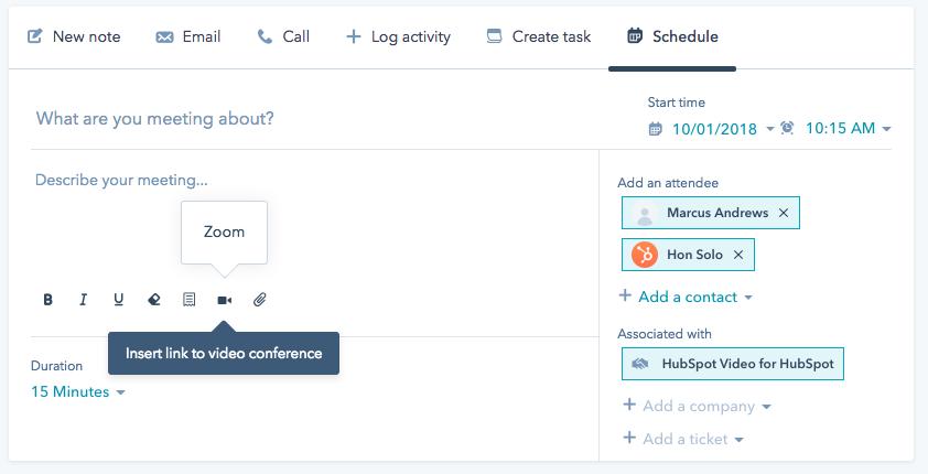 Meeting-Link einfügen