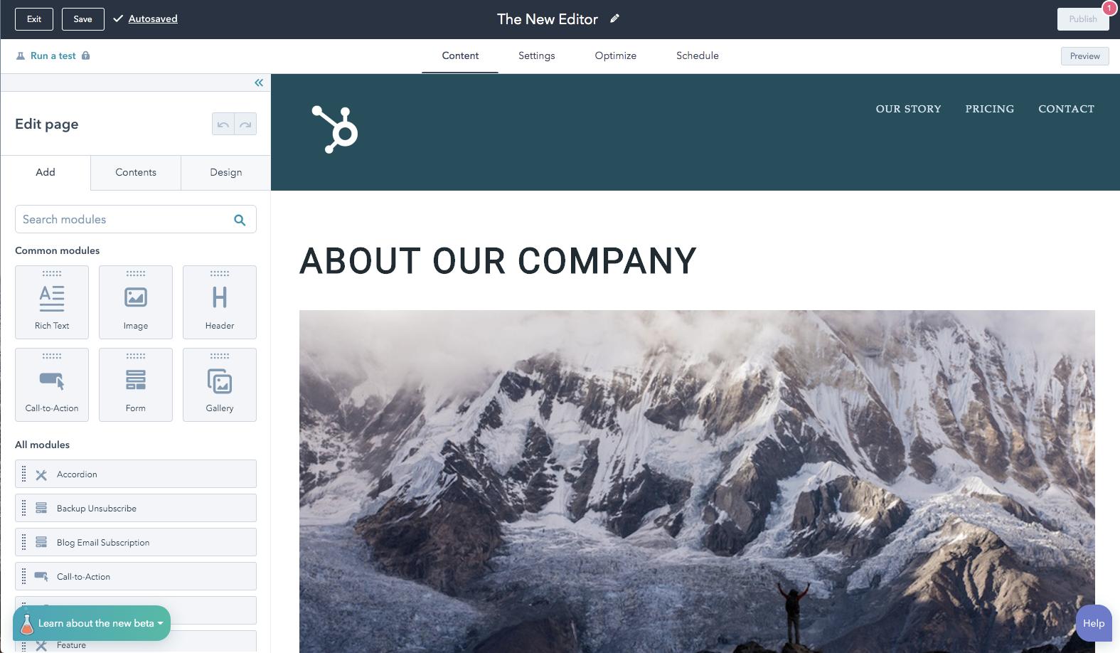 HubSpot: 2 Updates, die mehr Kontrolle über die Inhaltserstellung geben