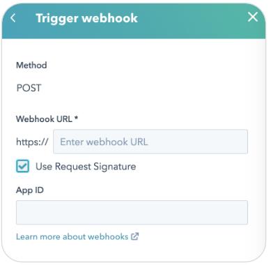 Webhooks mit Authentifikationssignaturen