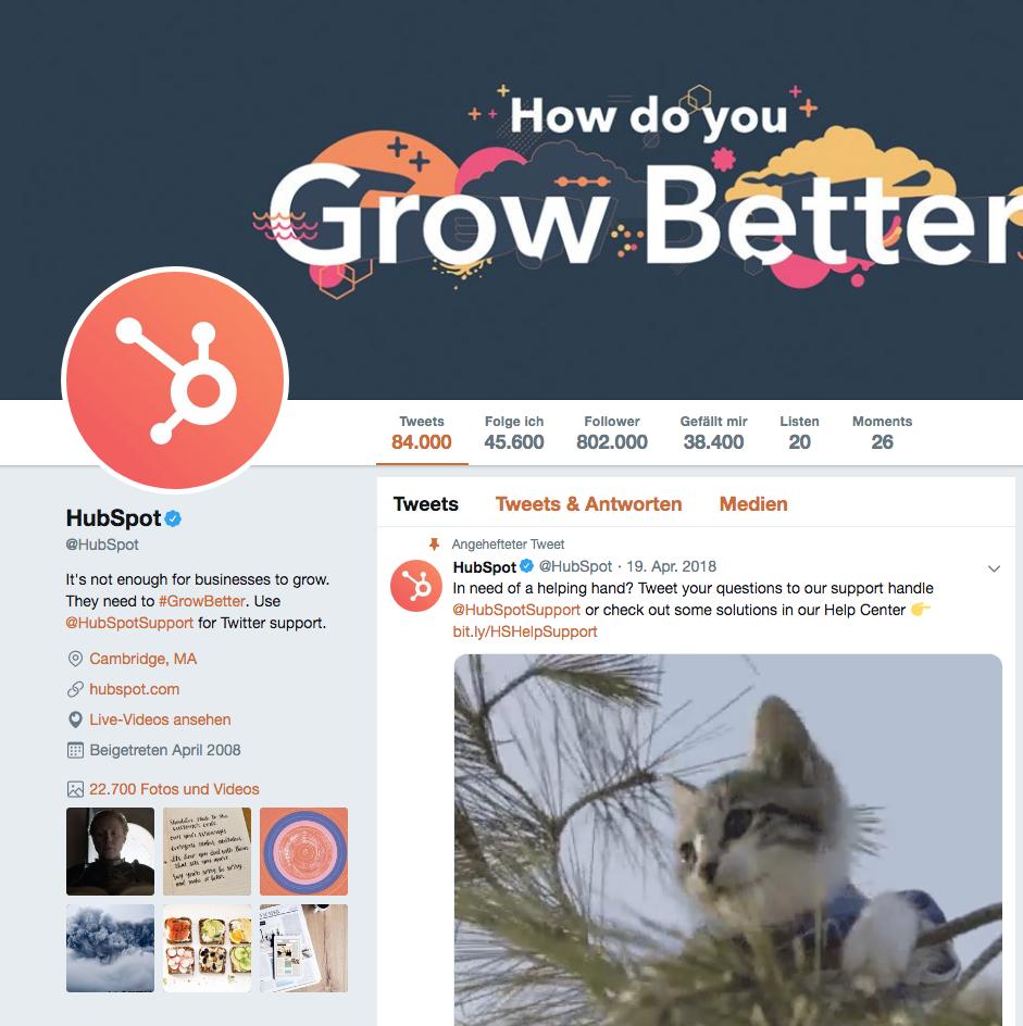 Bildschirmfoto Social Proof Beispiele Twitter