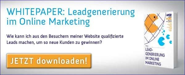 Whitepaper Leadgenerierung im Onlinemarketing Download