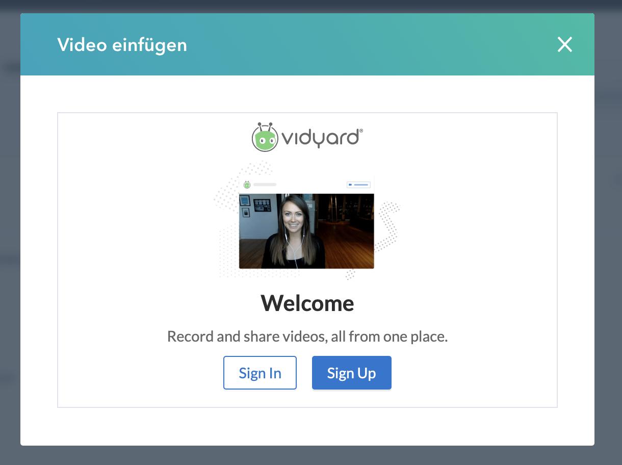 HubSpot Videos in Vorlagen & Sequenzen