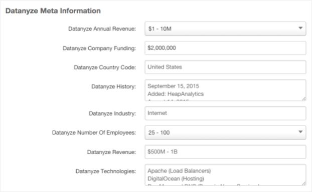 Datanyze Integration: Enthüllen Sie Softwares, die Ihre Leads nutzen