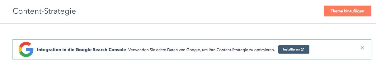 Die Google Search Console in HubSpot – erstellen Sie noch bessere Inhalte
