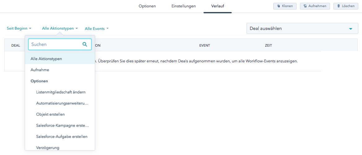 Neue Spalten- und Filterfunktion erleichtert die Fehlererkennung in Workflows