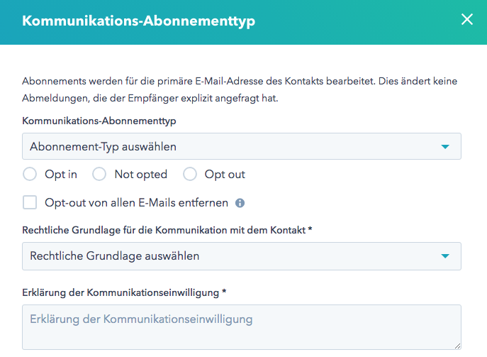 Re-Subscribe nach manuellem Opt-out – so einfach geht's
