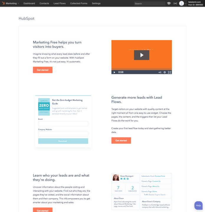 HubSpot Marketing Free jetzt für alle CRM Nutzer verfügbar
