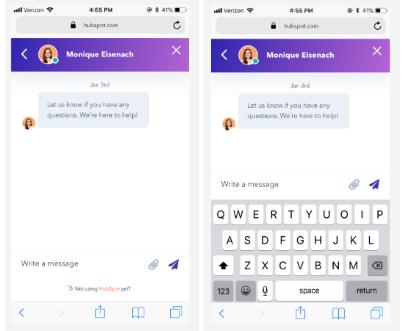 HubSpot Live-Chat:2 Updates für ein besseres Nutzererlebnis
