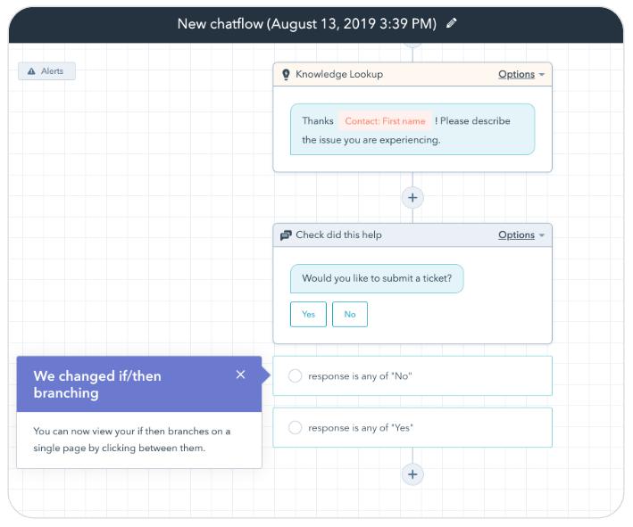 Einfachere Erstellung von Chatflows mit dem einseitigen Chatflow-Builder