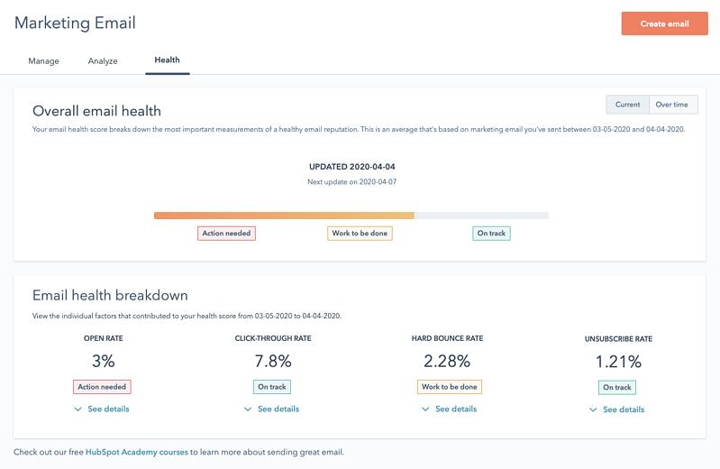 Jetzt verfügbar: Das neue E-Mail Health-Tool