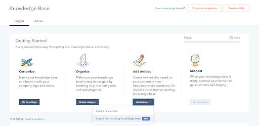 Service Hub: So importieren Sie Ihre bestehende Wissensdatenbank in HubSpot
