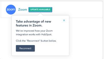 Benachrichtigung zu Zoom-Cloud-Aufzeichnungen in der Kontaktchronik